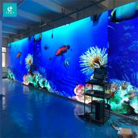 Buy cheap High Definition Indoor LED Video Wall Three Years Warranty For TV Studio / Gymnasium from wholesalers