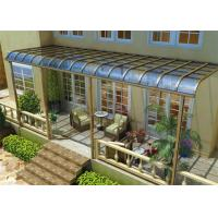 Buy cheap Impact Resistance Aluminum Canopy Awnings Non - Yellowing For Balcony from wholesalers