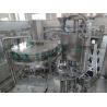 Auto Carbonated Drinks Filling Line PLC Control For Plastic Bottle Manufactures