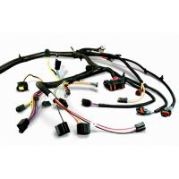 China Durable Electrical Custom Wiring Harness Black For Home Appliance on sale