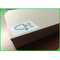 Buy cheap Adiabatic Grey Cardboard Sheets Size Customized For Sheet Packing FSC Certification from wholesalers