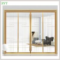 China Interior large decorative sliding glass doors factory on sale
