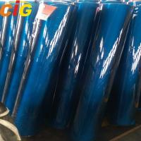Buy cheap Blue / Green / Crystal PVC Transparent Film , Thickness 0.07mm - 3.0mm from wholesalers
