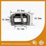 Pin Buckle Inner 15X10.8MM Gold Black Nickel Buckle / Hardware Accessories