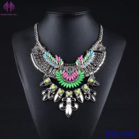 Buy cheap Charm Fashion Jewelry Pendant Chain Crystal Choker Chunky Statement Bib Necklace from wholesalers