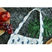 Buy cheap Home and Work Linen Apron With Full Print Pattern And Lace Decoration from wholesalers