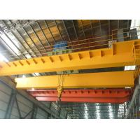 Buy cheap Workshop Overhead Crane 5 - 15M / Min Lifting Speed With Electric Hoist Trolley from wholesalers