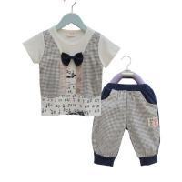 Buy cheap Free sample baby clothes baby clothing set with cool pants from wholesalers