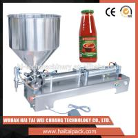 Buy cheap Vegetable Oil Bottle Semi-Automatic Filling Machine Electric Driven Type product