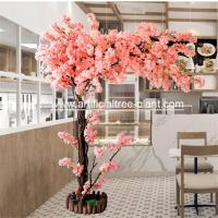 Wholesale Durable One Side Artificial Blossom Tree Wedding Shop Home Decoration from china suppliers