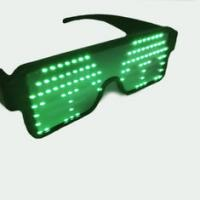 Buy cheap USB Interface Charging LED Glowing Glasses For Birthday / Nightclub Party from wholesalers