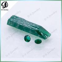 Buy cheap Synthetic Emerald Rough Uncut Gemstone Price Per Carat from wholesalers