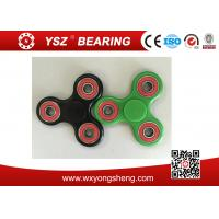 Stainless Steel Bearing Tri-Spinner Finger Spinner Fidget Toys For Anxiety Manufactures