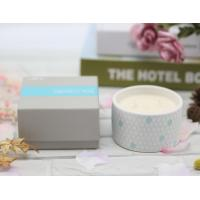 Buy cheap ITS Passed Home Fragrance Candles / Long Lasting Candles Elegant Pattern Printing from wholesalers