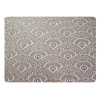 Buy cheap Water Soluble Fan Shaped Lace Fabric 65% Terylene + 35% Cotton CY-CT8521 from wholesalers