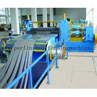 Wholesale Automatic Control Metal Slitting Machine Durable Carbon Steel / Galvanized Coils from china suppliers