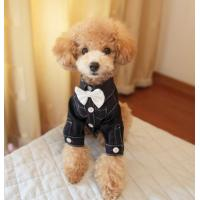 Buy cheap Cotton fabric Doggie Tuxedo Costume T-Shirts Pet Apparel for small dog breeds from wholesalers