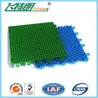 Colored Outdoor PP Suspended Interlocking Rubber Floor Tiles Modular Hockey Flooring Manufactures