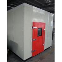 Buy cheap Safety -70℃~+120℃ Walk In Cold Chamber Fast Speed High Density Glass Fiber Cotton Insulation from wholesalers