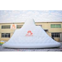 Buy cheap Giant Inflatable Floating Iceberg , Water Climbing Wall For Ocean from wholesalers