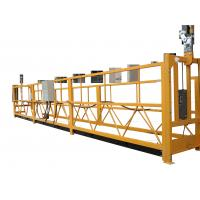 Buy cheap Adjustable Temporary Suspended Work Platform For Elevator Installing / Ship Repairing from wholesalers