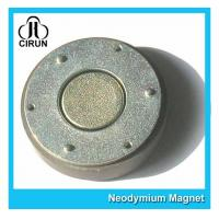 Buy cheap Small Thin Custom Neodymium Magnets , Strong Round Flat Ndfeb Magnet from wholesalers