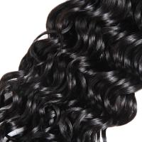 Buy cheap Water Wave Indian Weft Hair Extensions In Human Hair Weave For Black Women from wholesalers