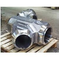 Buy cheap Inconel 625 Alloy 625 UNS N06625 weld overlay Coated Coating Cladding Forged Forging Steel Eccentric Equal Lateral Tees from wholesalers