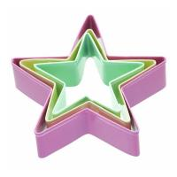 China 3 Star Shaped Cookie Cutters on sale