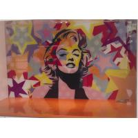 Buy cheap 6~12mm Printing Digital Photos On Glass , Bath Shower Glass For Decorative from wholesalers