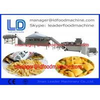 China PLC Extruded Fried Fried Wheat Flour Snacks Making Machine 3D pellet processing on sale