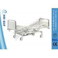 Buy cheap Hospital Hydraulic Intensive Care Bed , Adjustable Medical Manual Bed from wholesalers