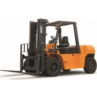 Wholesale 7 Ton Diesel Forklift Truck Large Loading Capacity Small Turning Radius CE Certificated from china suppliers