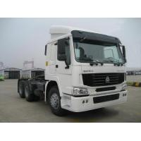 Buy cheap White Color 4X2 6 Wheelers Tractor Truck 371Hp Diesel Fuel Type Euro 3 from wholesalers