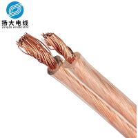 Buy cheap 2..5mm Audio Speaker Cable , Copper Stranded Flat Ribbon Wire Customized Length from wholesalers