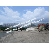 Buy cheap Prefabricated Steel Bailey Bridge Modular Designed , Temporary Emergency Structural Steel Bridge Galvanized from wholesalers