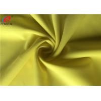 Buy cheap Yellow Colour Semi-dull Polyester Spandex Knitted Fabric Lycra Fabric For Apparel from wholesalers