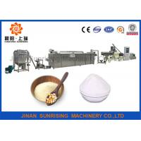 Buy cheap Textile Paper Industry Corn Starch Manufacturing Machinery Production Line Full Automatic from wholesalers