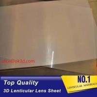 Buy cheap 3d lenticular lens sheet 25 lpi plastic 3d lens material lenticular lenses for from wholesalers