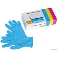 Buy cheap Medical Nitrile glove powdered/Powder free surgical Nitrile glove/Nitrile examination glov from wholesalers