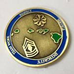 Buy cheap Metal commemorative coin, painted metal commemorative medals, zinc alloy, MOQ 300pcs, from wholesalers