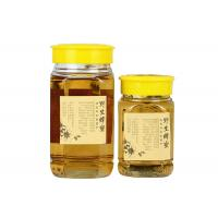 Buy cheap Square Glass Honey Jars Empty Glass Jars Food Container With Plastic Lids from wholesalers