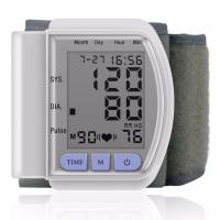 Buy cheap LCD Digital Home Automatic Wrist Blood Pressure Pulse Sphygmomanometer and Tonometer Monitor from wholesalers