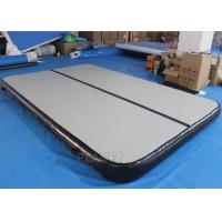 Wholesale DWF Inflatable Air Track , 4 M Inflatable Tumbling Mat With Repair Kits from china suppliers