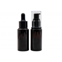 Buy cheap Empty Lotion cosmetic 10ml 15ml 20ml 30ml 50ml Lotion Pump Bottles Glass Material from wholesalers