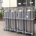 Buy cheap 175L Cryogenic Liquid Storage Tank Xygen / Nitrogen / Argon Dewar Bottle from wholesalers