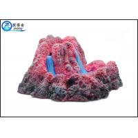 Buy cheap Bubbler Erupting Volcano Aquarium Decorations For Fish Tank Resin Ornaments Gift from wholesalers