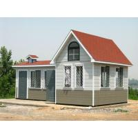 Buy cheap Fireproof Mobile Aluminum Green Prefab Houses  Eco Friendly Economical from wholesalers