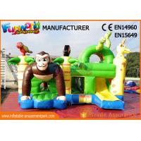Wholesale Children Inflatable Bouncer Gorilla Jumping Castle For Garden / Playground from china suppliers