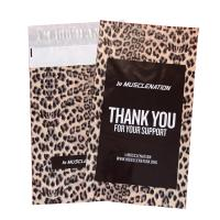 Wholesale 10x12in Black Printed Leopard Poly Mailers custom poly bags for shipping from china suppliers